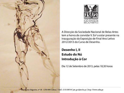 SNBA_Exposição Desenho2013